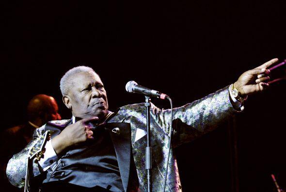 B.B. King es uno de los músicos más importantes del blues.