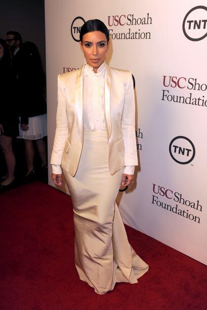 La Kardashian se ha dejado llevar por el mundo de la moda y algunas vece...