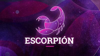 Escorpión - Semana del 21 al 27 de mayo