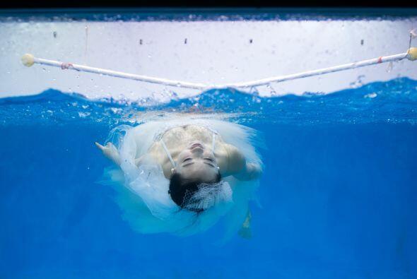 Una fotografía del amor flotando.