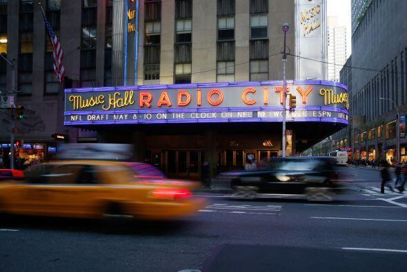 El Radio City Music Hall de Nueva York, como todos los años, es l...