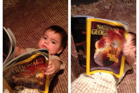 Sabe leer y es el compañero número uno de mami cuando se encuentra en el...