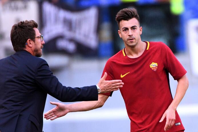 Fiesta y triunfo para la Roma tras vencer 3-1 al Udinese gettyimages-852...