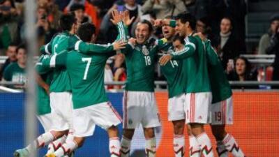 La selección mexicana tendrá como retos del 2015 el conseguir el título...