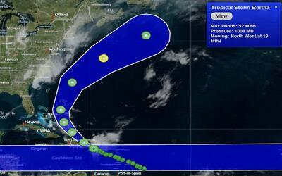 Conferencia de Prensa: Sigue a paso firme Bertha por Puerto Rico