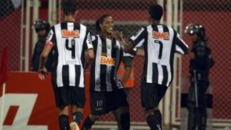 Atletico Mineiro en la Copa Libertadores.