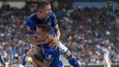 En fotos: Monterrey igualó con Cruz Azul y cedió terreno en la punta de la Liga MX