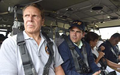 El gobernador de Nueva York Andrew Cuomo visitó Puerto Rico tras...