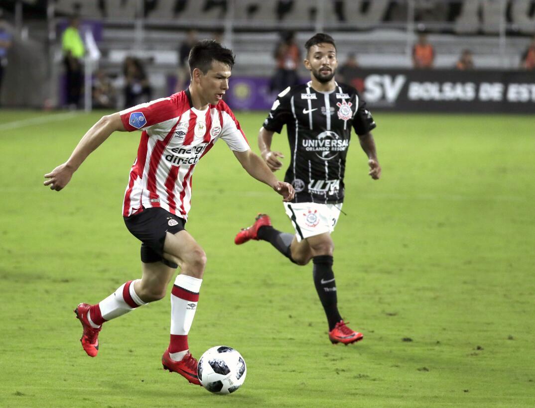 Los goles de Chucky Lozano y de Chicharito Hernández en su debut en el f...