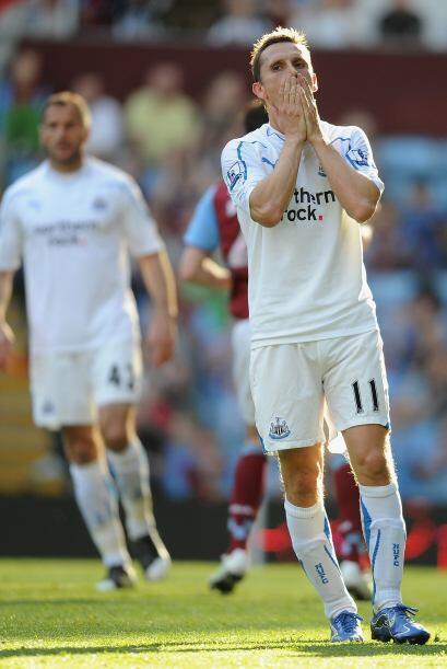Y de este modo, Newcastle cayó en casa del Aston Villa.