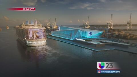 Royal Caribbean creará nueva terminal portuaria en miami