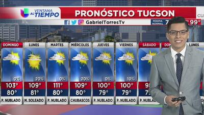 Domingo caluroso en Arizona
