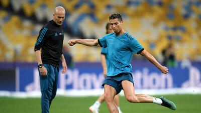 Real Madrid pisa la cancha de Kiev buscando la 13 en la Champions League