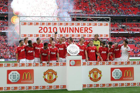 Es un hecho, Manchester United se llevó la Community Shield 2010, primer...