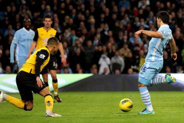 El argentino anotó el segundo del 'City.