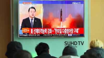 """Putin afirma que nueva prueba de misil de Corea del Norte es """"inadmisible"""" y """"peligrosa"""""""