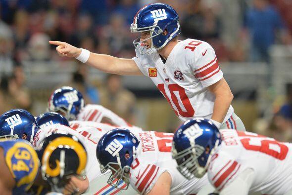 #9 Eli Manning, New York Giants.