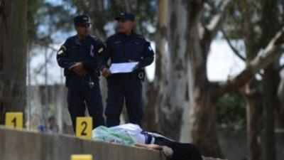 Guatemala es uno de los países centroamericanos afectados por la violenc...