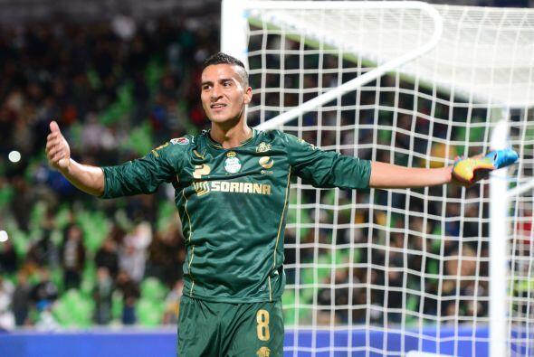 """Diego """"Pulpo"""" González, jugador de Santos, también ha tenido sus roces c..."""