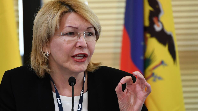 La exfiscal Luisa Ortega acusa directamente a Diosdado Cabello de recibi...
