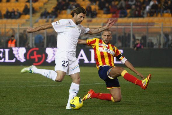 Asimismo, la Lazio jugó ante el Lecce con la opción de subir puestos..