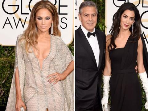 Desde JLo hasta Clooney, todos estos famosos incendiaron con su moda, la...