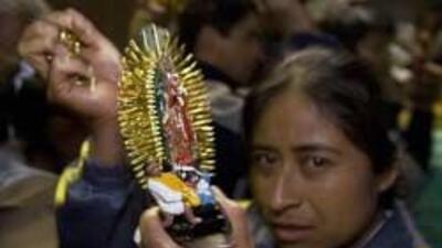 La Antorcha Guadalupana llego a Nueva York uniendo a familias inmigrante...