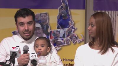 Colombiano que estuvo a punto de ser deportado se reencontró con su familia