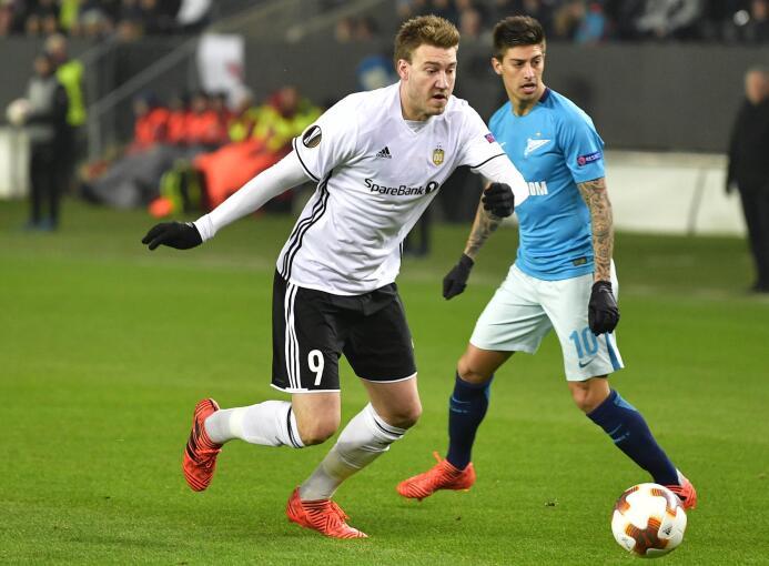 Rosenborg 1-1 Zenit: los noruegos no superion aguantar la ventaja y en e...