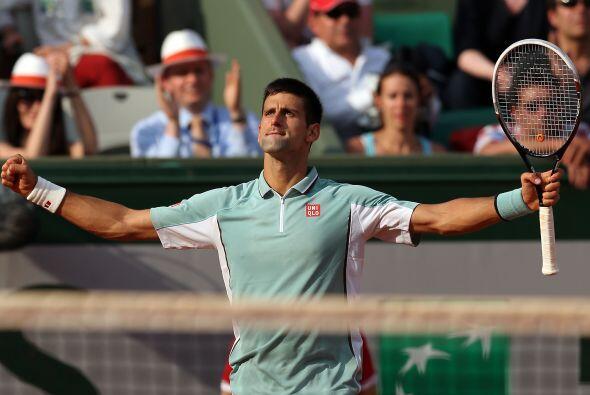 Con su clasificación, Djokovic sumó 12 semifinales consecutivas de Grand...