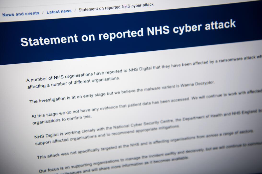 Ciber ataque Reino Unido