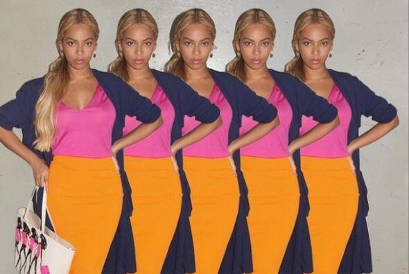 'Bey' es tan fashionista que lo demuestra de esta manera. ¿Ya votaste po...