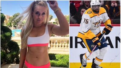 La hermosa Lindsey Vonn estaría saliendo con un jugador de la NHL