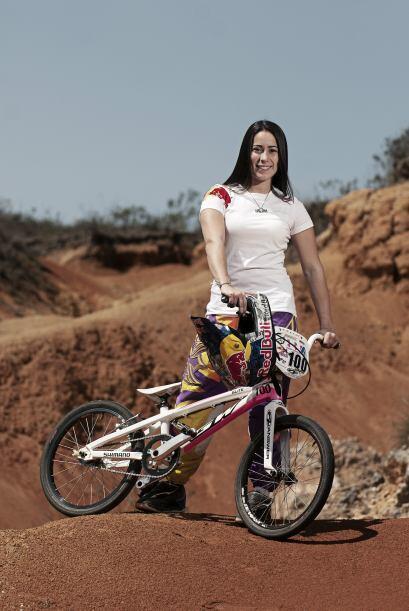 Su próximo reto; prepararse para participar en el UCI BMX Supercross Wor...