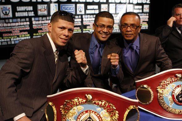 "Wilfredo Vázquez Jr. y Román ""Rocky"" Mart&iacute..."