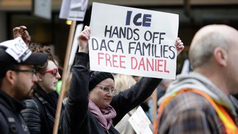 Marcha para protestar por la detenció de Daniel Ramírez Me...