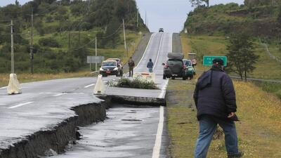 Los efectos del terremoto en Chile