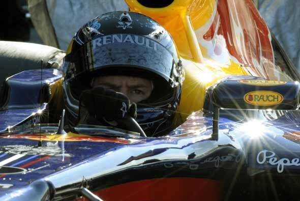 Sebastian Vettel sabe que tendrá un año difícil, pero el doblete es posi...