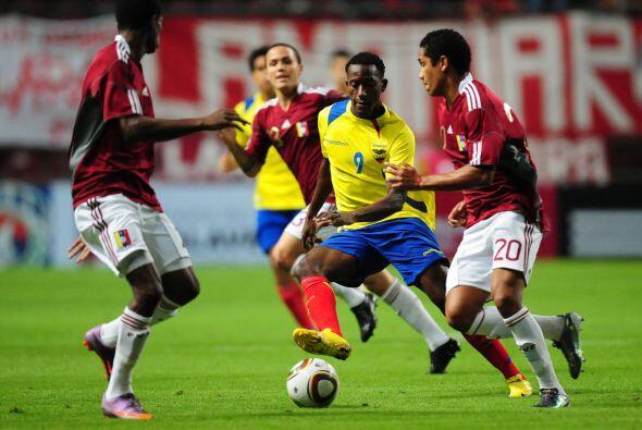 Enterrando la mala imagen que dejó frente a Colombia, Venezuela venció a...