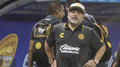 ¡Se acordó de Codesal! Maradona criticó al arbitraje pese a calificar a la Liguilla