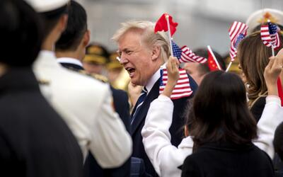 Viaje de Trump por Asia