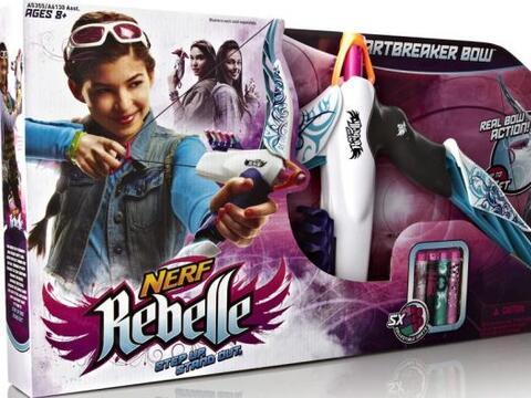 NERF Rebelle Heartbreaker Bow, $15.88