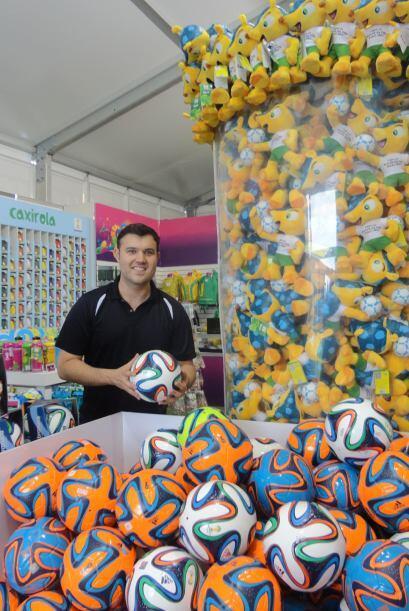La tienda oficial de FIFA ofrece cientos de productos.