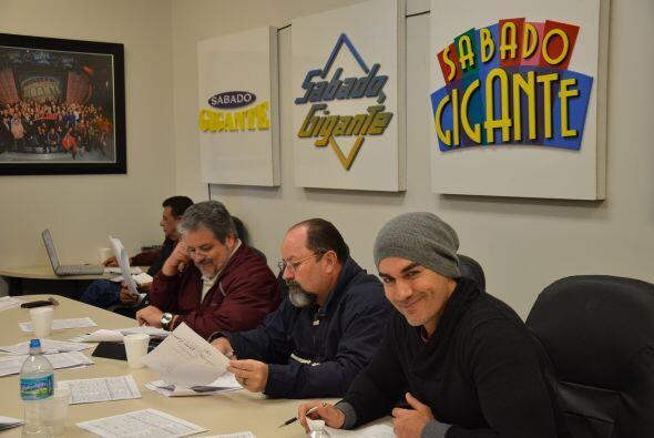 El actor David Zepeda, también se divirtió durante la planeación del pro...