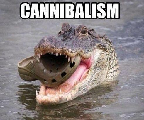 """Canibalismo""."