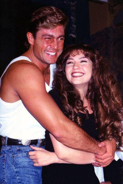 Años después Thalía y Fernando Colunga vivieron la misma historia de amo...