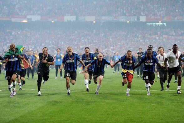 La cancha del estadio Santiago Bernabéu vibró con la estrepitosa celebra...
