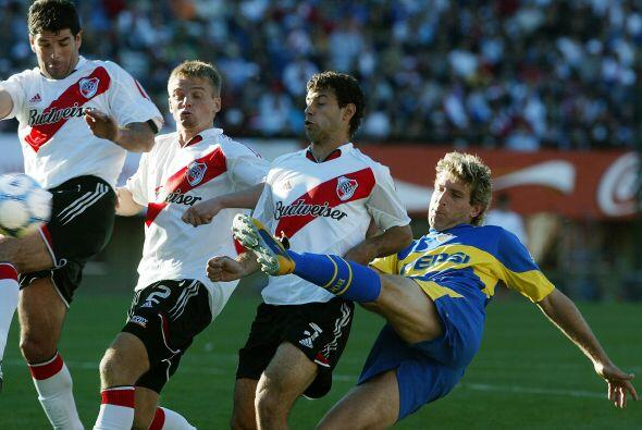 Frente a River Plate jugó clásicos inolvidables, le toc&oa...