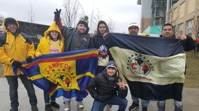 Invasión de los hinchas de América en su visita contra Toronto en Liga de Concacaf