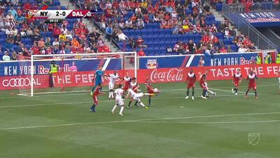 'Bombazos' y una obra de arte en Nueva York, lideran los goles de la semana 17 de la MLS